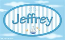 Jeffrey, nombre de bebé, nombre de niño