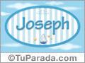 Joseph, nombre de bebé, nombre de niño