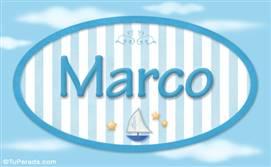 Marco, nombre de bebé, nombre de niño