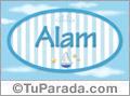 Alam, nombre de bebé, nombre de niño