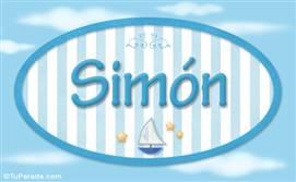 Simón, nombre de bebé, nombre de niño