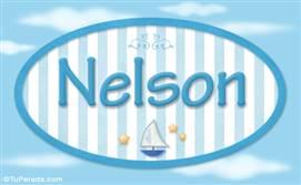 Nelson, nombre de bebé, nombre de niño