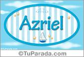 Azriel, nombre de bebé, nombre de niño