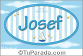 Josef - Nombre decorativo