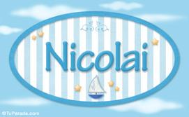 Nicolai - Nombre decorativo