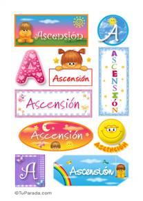 Ascensión - Para stickers
