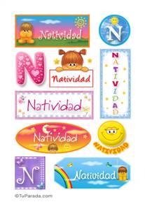 Natividad - Para stickers