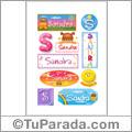 Sandra - Para stickers