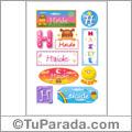Haide - Para stickers