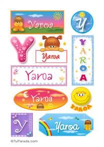 Yaroa - Para stickers