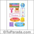 Teodora - Para stickers