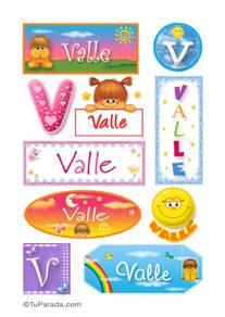 Valle - Para stickers