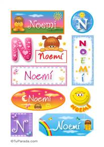 Noemi - Para stickers