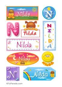 Nilda - Para stickers
