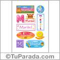 Maribel - Para stickers