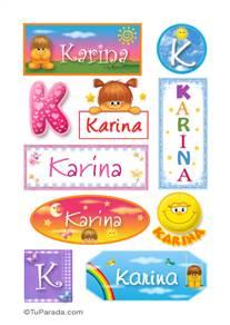 Karina - Para stickers