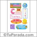 Constanza - Para stickers