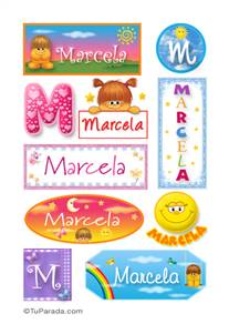 Marcela - Para stickers