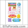 Eulalia - Para stickers