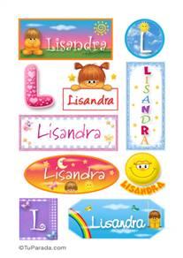 Lisandra - Para stickers