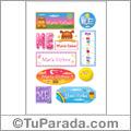 María Esther - Para stickers