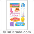 Liliana - Para stickers
