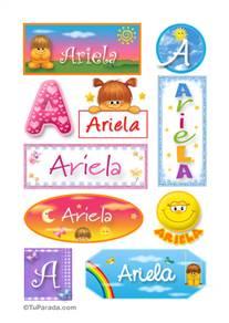 Ariela - Para stickers