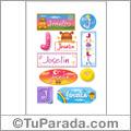 Joselin - Para stickers