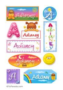 Adianey - Para stickers