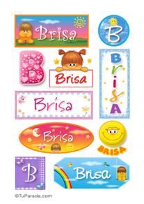 Brisa - Para stickers