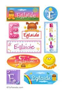 Eglaide - Para stickers