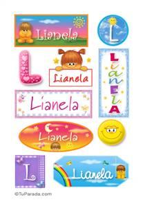 Lianela - Para stickers