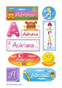 Adriana - Para stickers