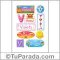 Violeta - Para stickers