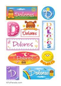 Dolores - Para stickers
