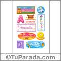 Anabella - Para stickers