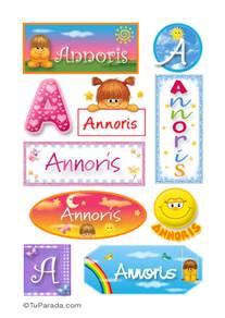 Annoris - Para stickers