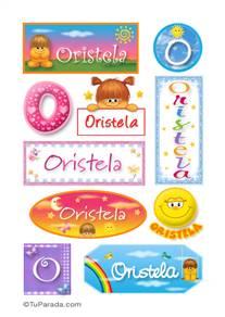 Oristela - Para stickers