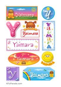 Yaimara - Para stickers