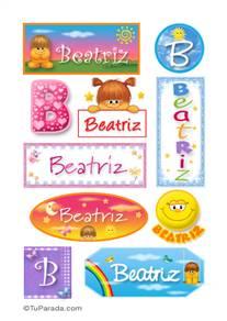 Beatriz - Para stickers
