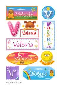 Valeria - Para stickers