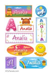 Analia - Para stickers