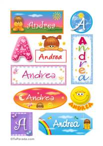 Andrea - Para stickers