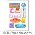 Camila - Para stickers