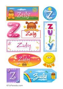 Zuly - Para stickers