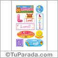 Lorell - Para stickers