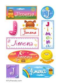 Jimena - Para stickers