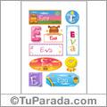 Eva - Para stickers