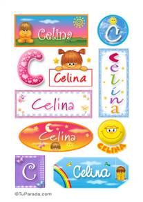 Celina - Para stickers