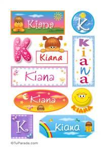 Kiana - Para stickers